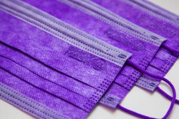 成人口罩 - 紫丁香